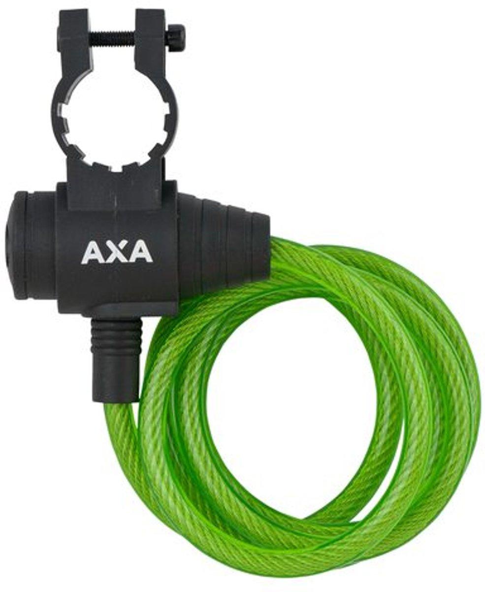 AXA kabelslot Zipp 1200 x 8 mm groen