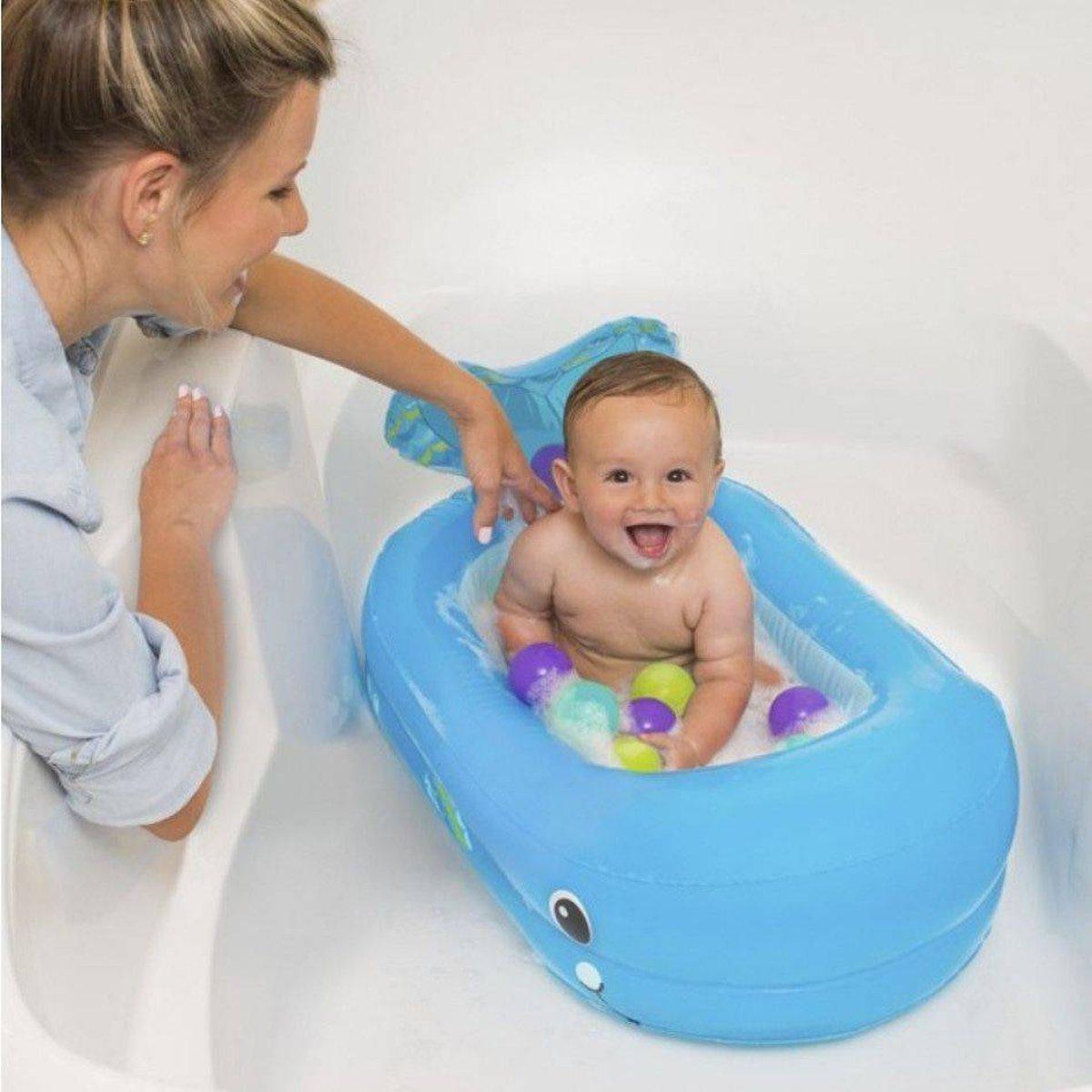 Whale Bubble Opblaasbaar Babybadje Whale