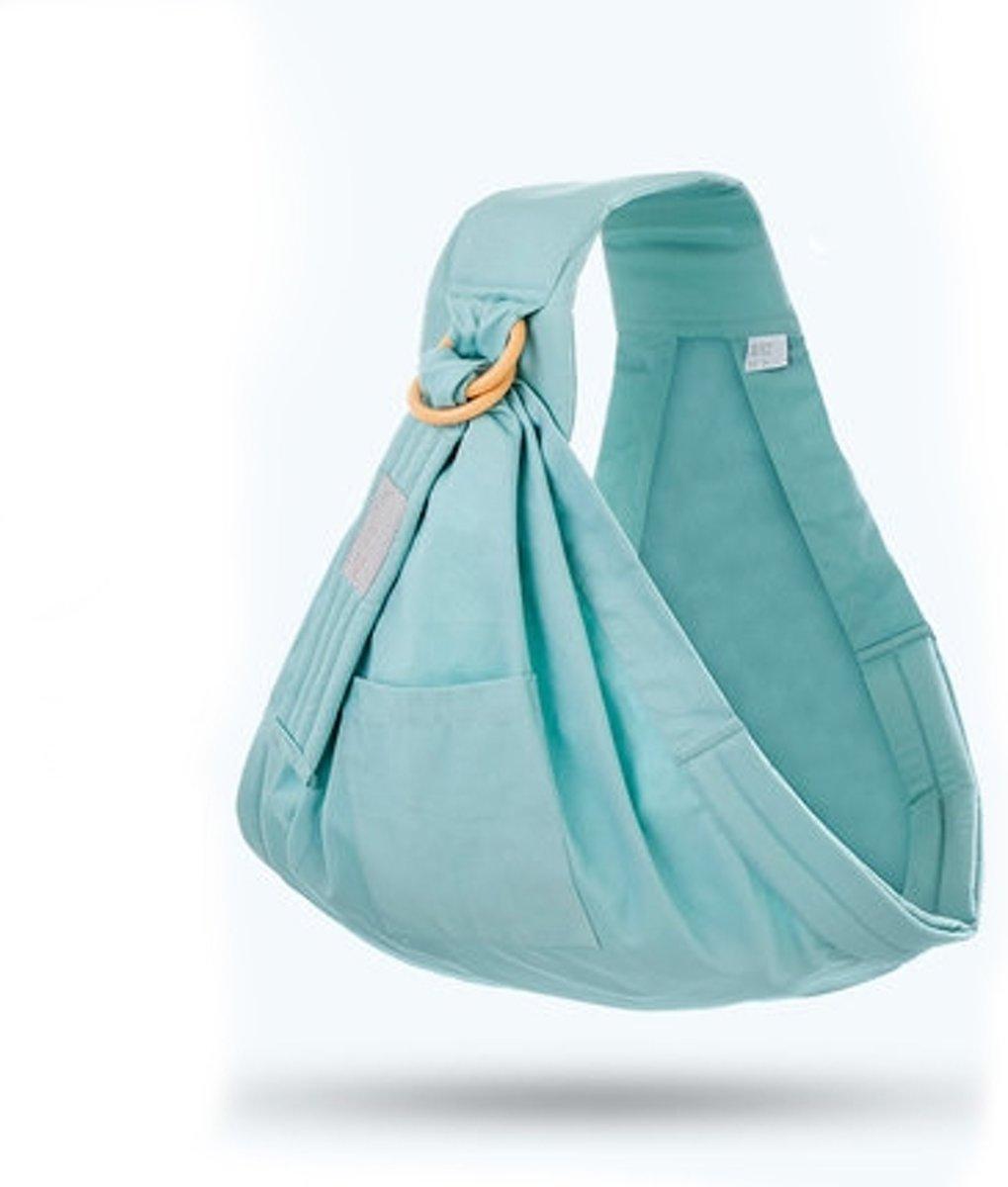Ring Sling Draagdoek | Turquoise | Borstvoedingsdoek | Voedingsdoek | Heupdrager | 0 - 36 maanden | Gratis verzending | Kidzstore.eu