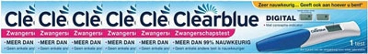 Clearblue Digital Zwangerschapstest Voordeelverpakking