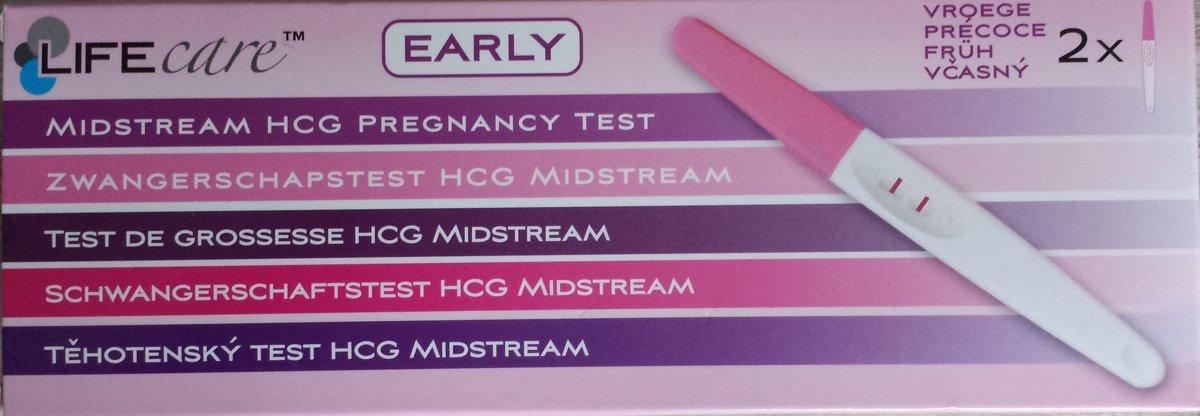 Vroege Zwangerschapstest - 2 stuks