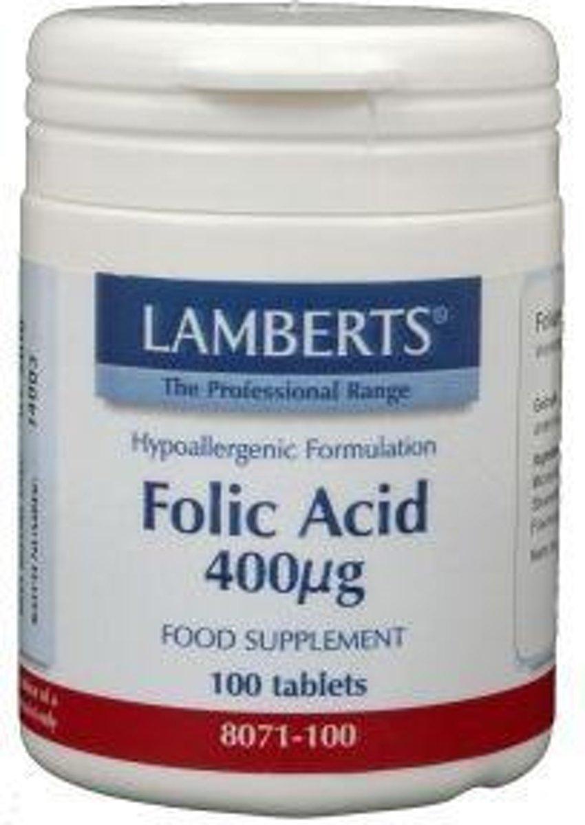 Lamberts Vitamine B11 400 Mcg (Foliumzuur) (100tb)