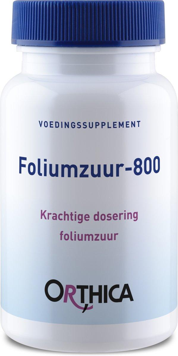 Orthica Foliumzuur 800 Mg 120stuks