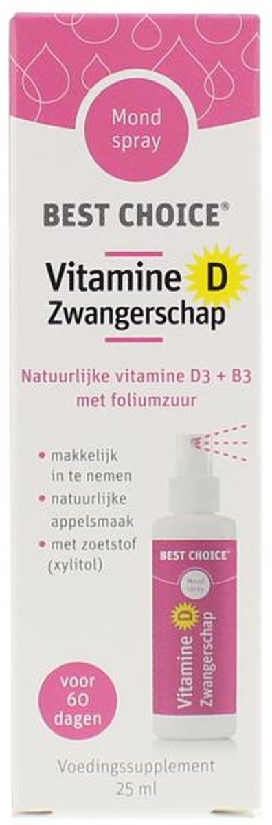 Best Choice Vitamine D Zwangerschap Spray