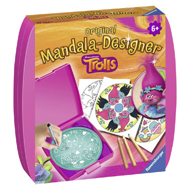 Ravensburger Trolls mandala designer
