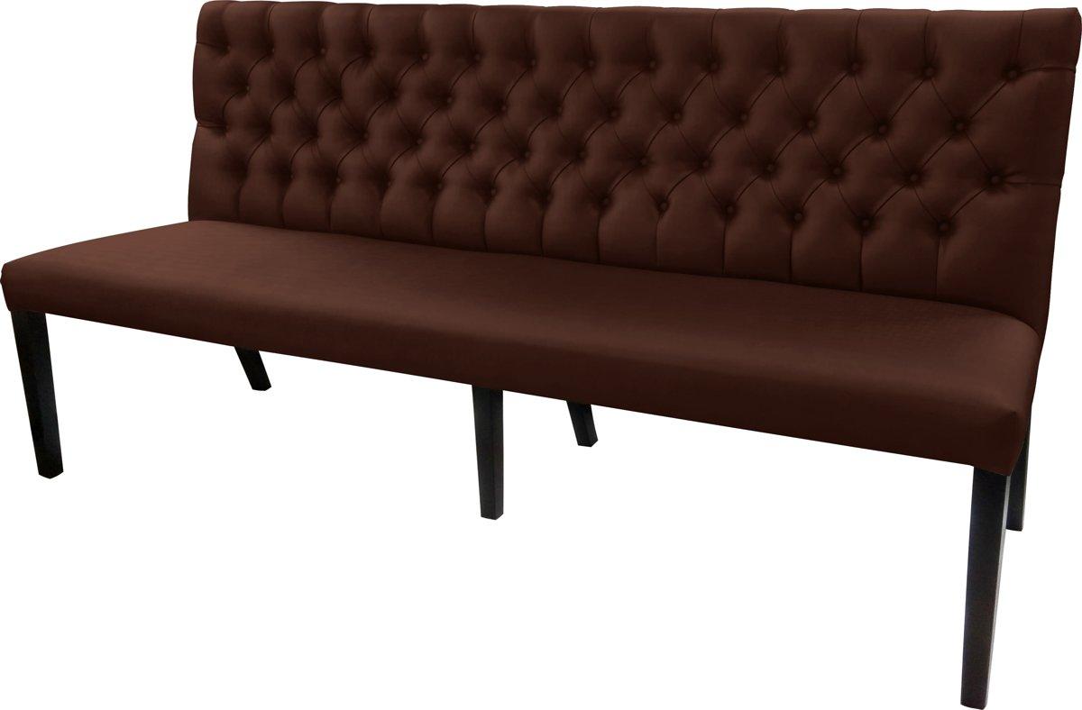 Gecaptionneerde design eetkamerbank, 160 cm breed, in verschillende kleuren. Kleur: P986