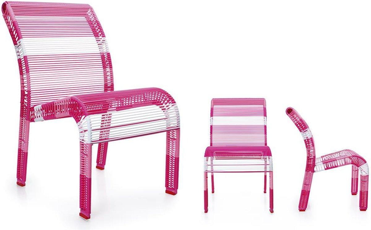 Scratch Deco: Stoel Pink