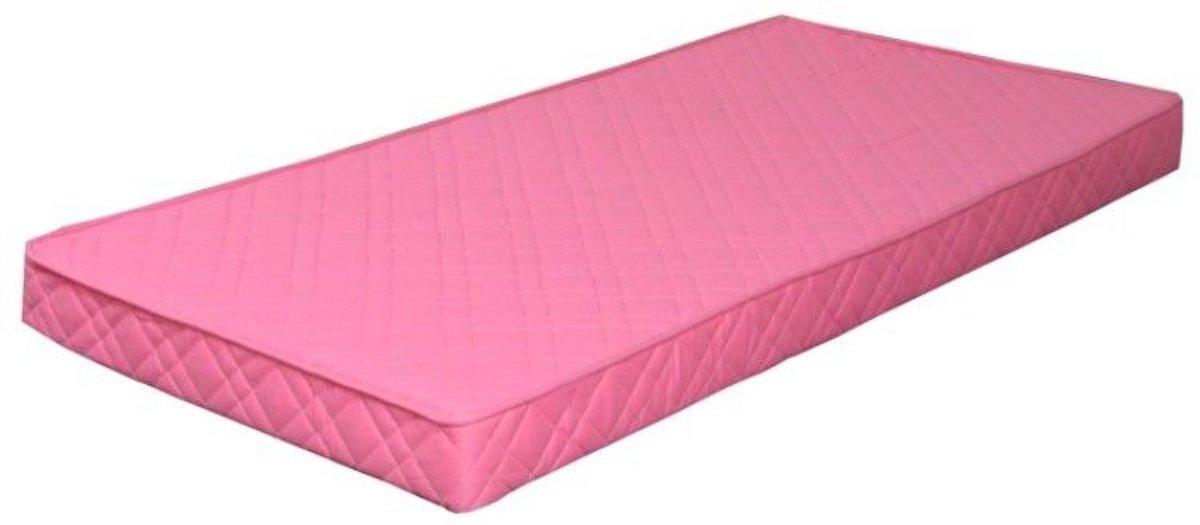 Binnenverings - Matras - 90x200 cm - roze