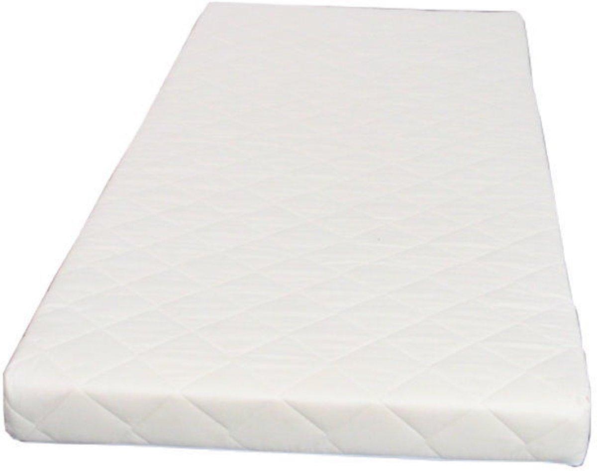 Hioshop - Schuimmatras - 90x200 cm - Offwhite