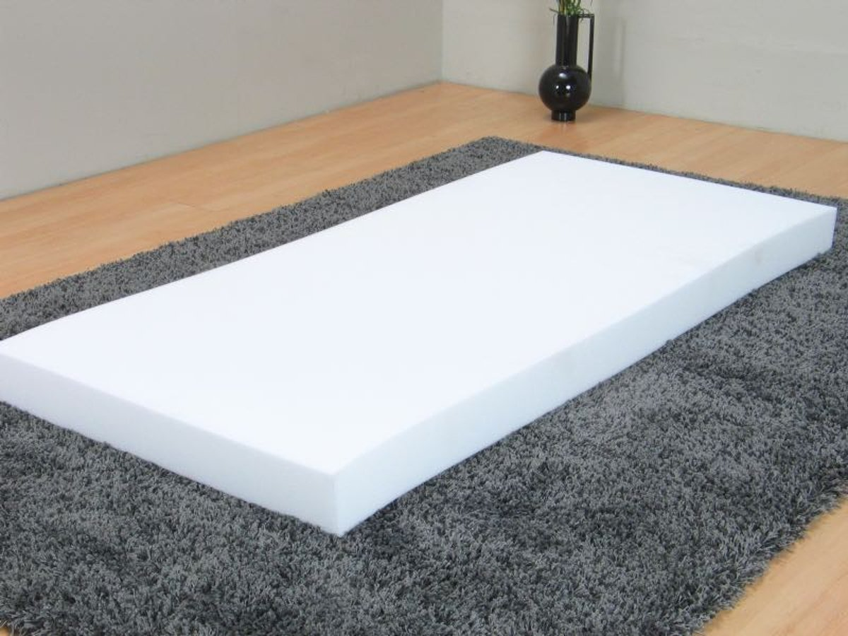 Schuim - Matras - 90x200 cm - wit