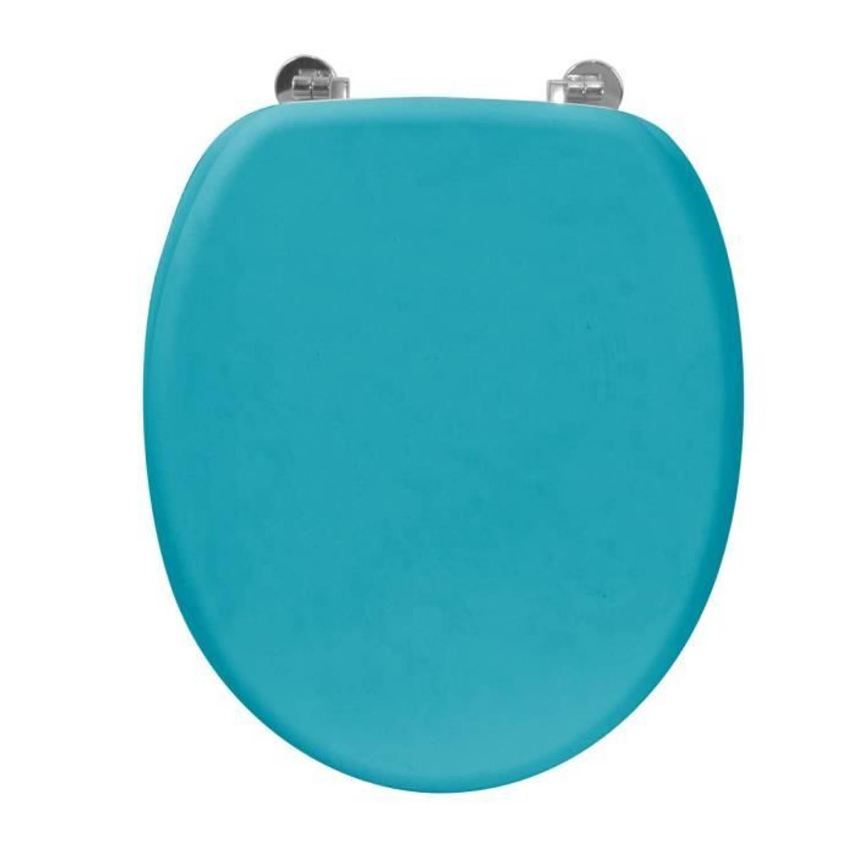 Frandis Toiletzitting Rubber In Blauw Hout