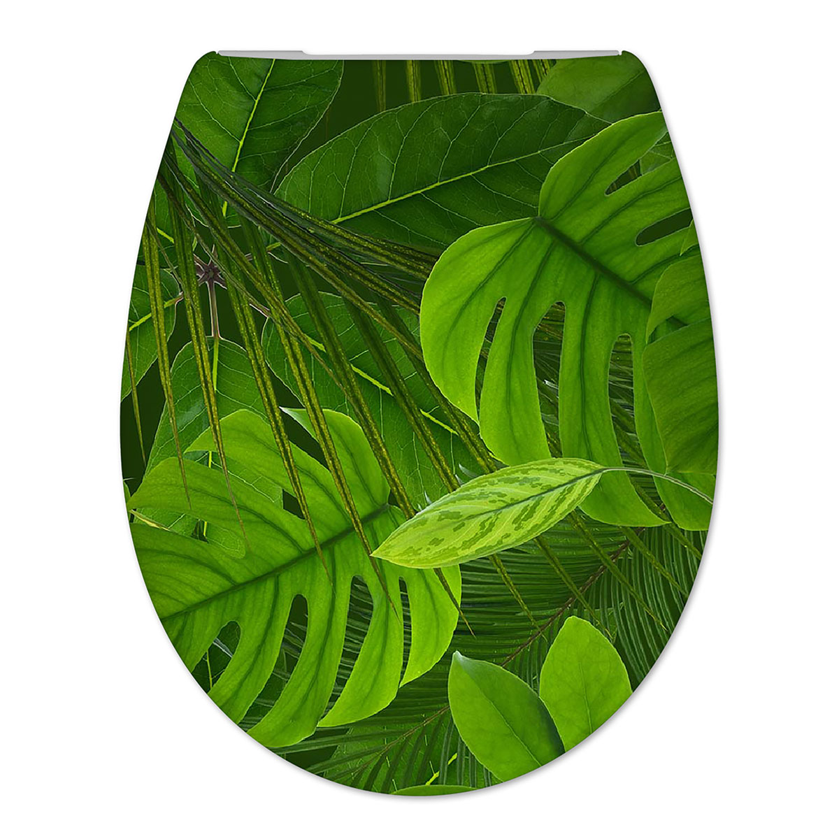 Toiletbril Cedo Jungle Print Duroplast Softclose en Quickrelease Toiletzitting