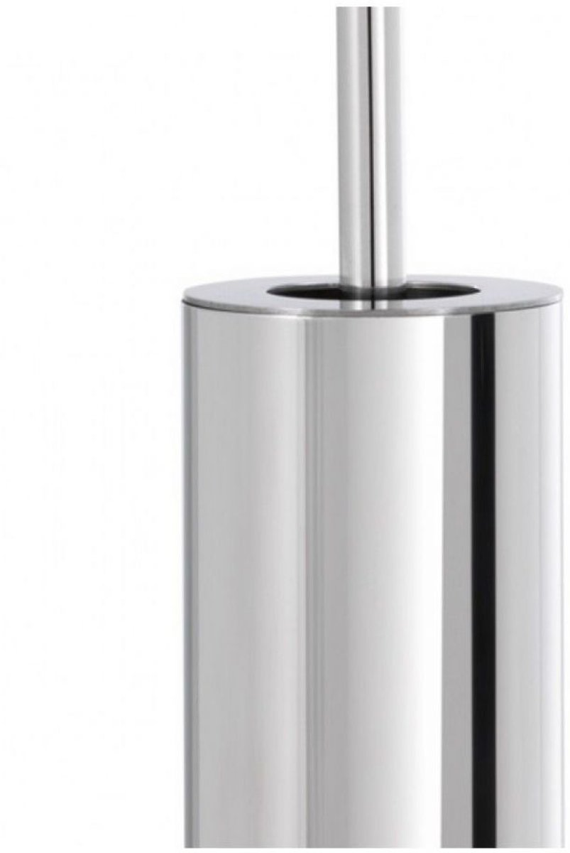 Blomus wc borstel houder NEXIO rvs met deksel - Uitvoering - Glanzend Rvs
