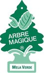Arbre Magique luchtverfrisser 12 x 7 cm Appel groen