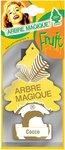 Arbre Magique luchtverfrisser 12 x 7 cm Cocos geel/bruin