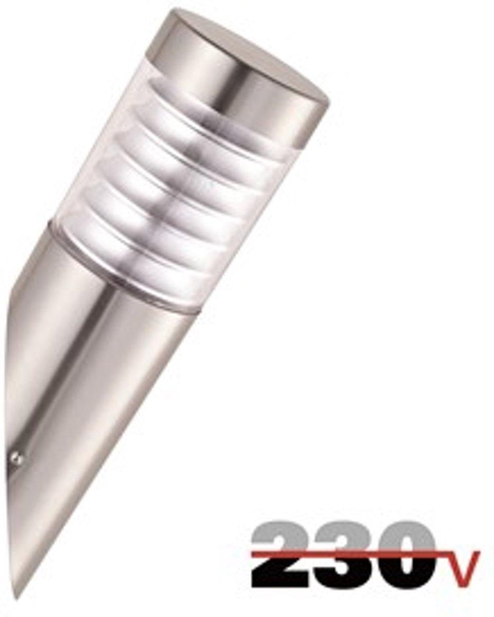 Luxform 230V Quebec wand buitenlamp schuin