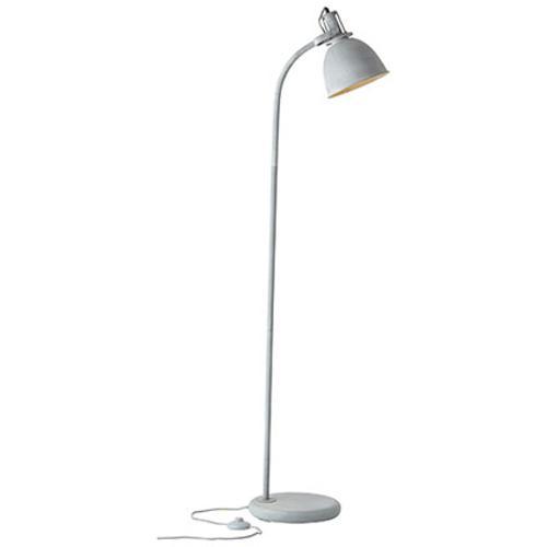 Brilliant vloerlamp Jesper grijs 60W