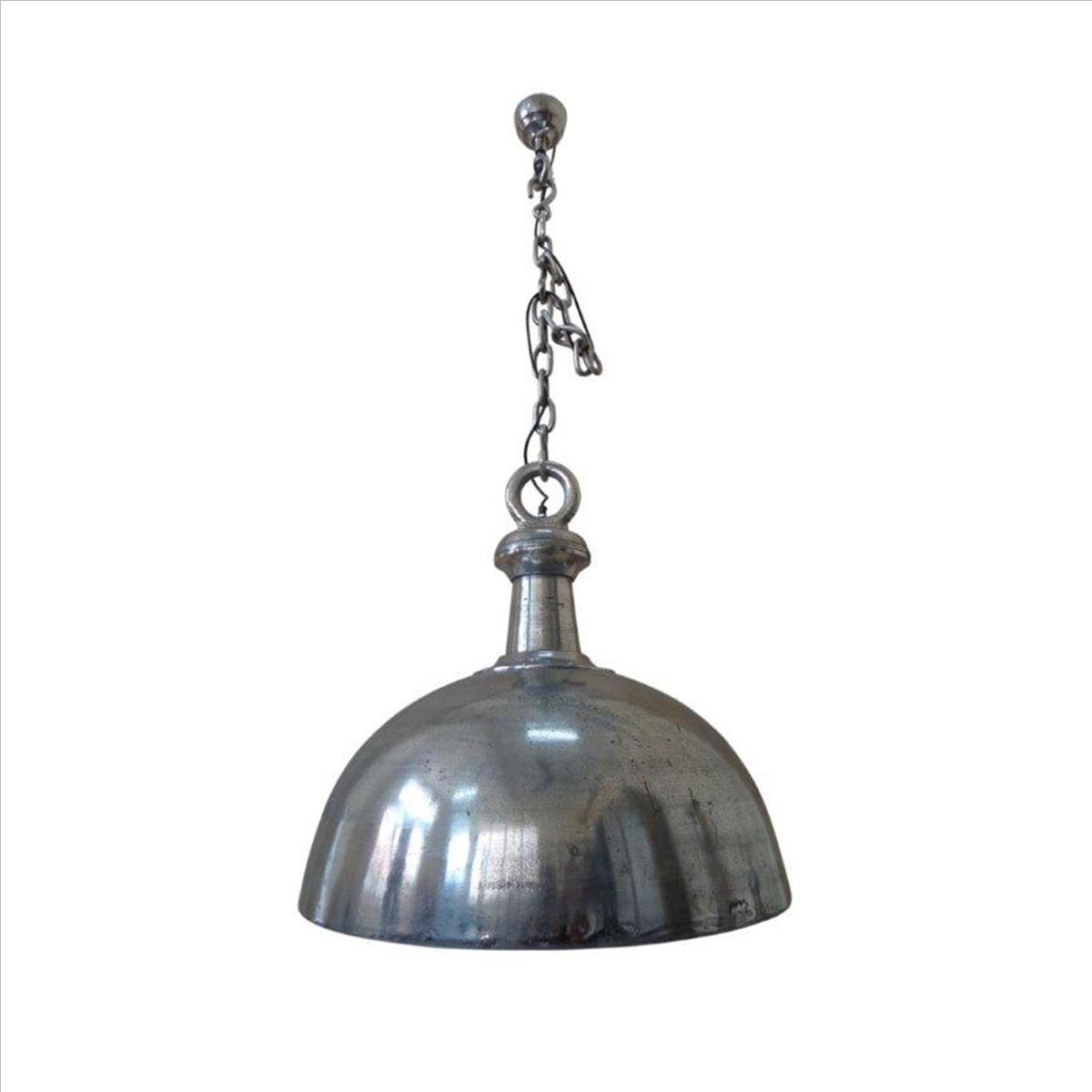 Deco4yourhome - Hanglamp - 69cm - Shiny Nickel