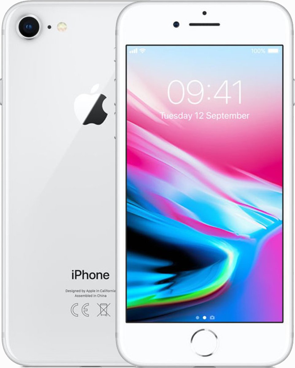Apple iPhone 8 - 64GB - Zilver