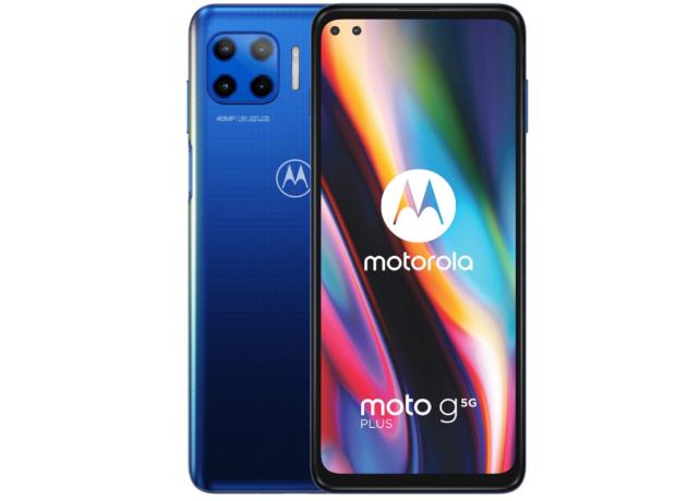 Motorola Moto G 5G Plus - 128GB - Surfing Blauw