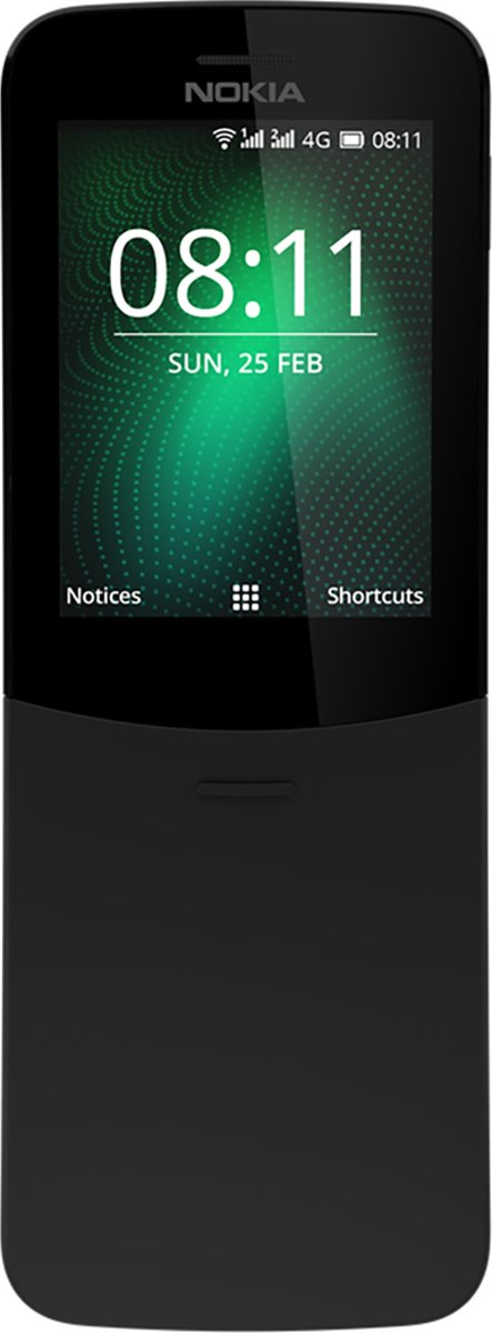 Nokia 8110 SS - Zwart - i.c.m. simkaart