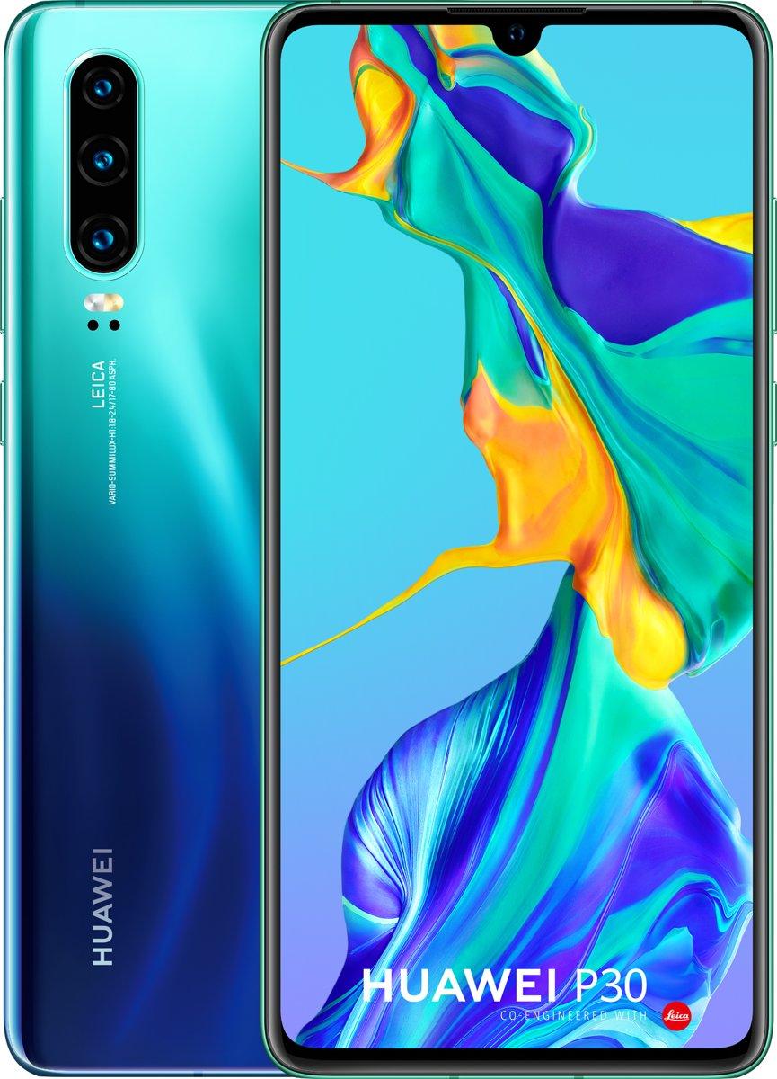 Huawei smartphone P30 (Aurora)
