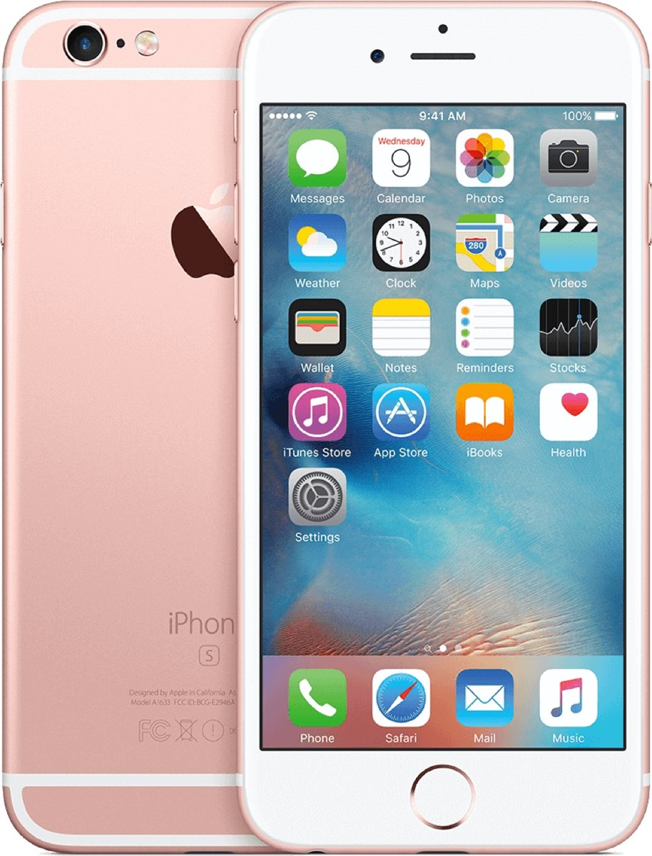 Forza Refurbished Apple iPhone 6s - 32GB - Roségoud