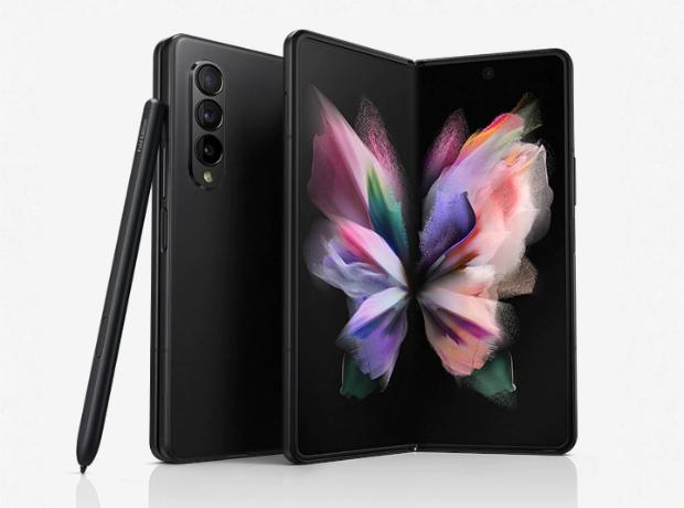 Samsung Galaxy Z Fold3 5G - 256GB - Phantom Black
