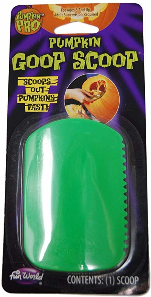 Pompoen schraper - groen