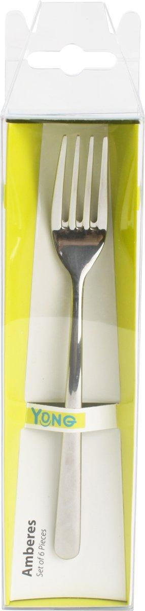 Yong Amberes Dessertvork - set/6