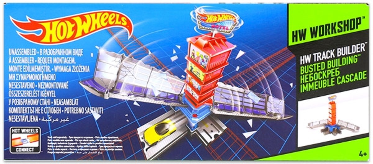 Hot Wheels Track Builder - Busted Building