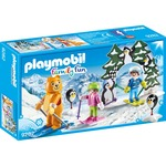 PLAYMOBIL Family Fun skischool 9282