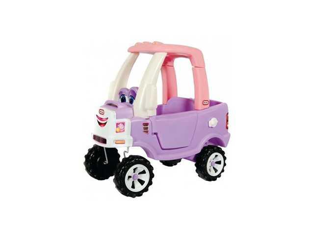 little tikes Cozy Truck roze
