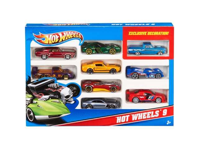 Hot Wheels 10-pack giftset