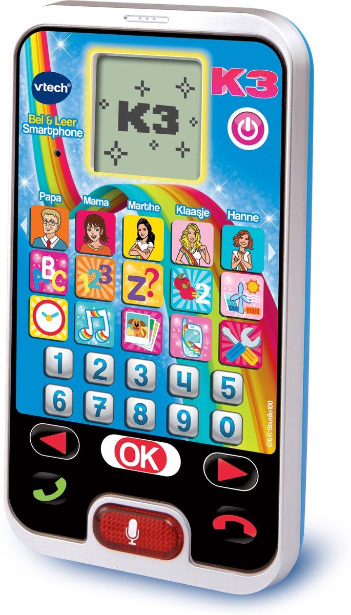 VTech Preschool K3 Bel & Leer Smartphone - Speelgoedtelefoon