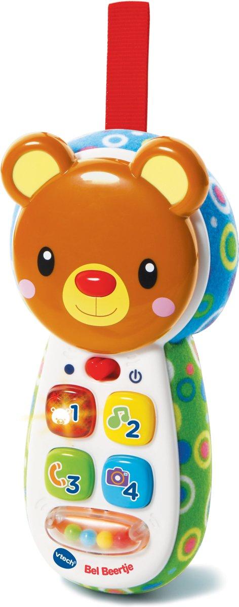 VTech Baby Bel Beertje Bruin - Babytelefoon