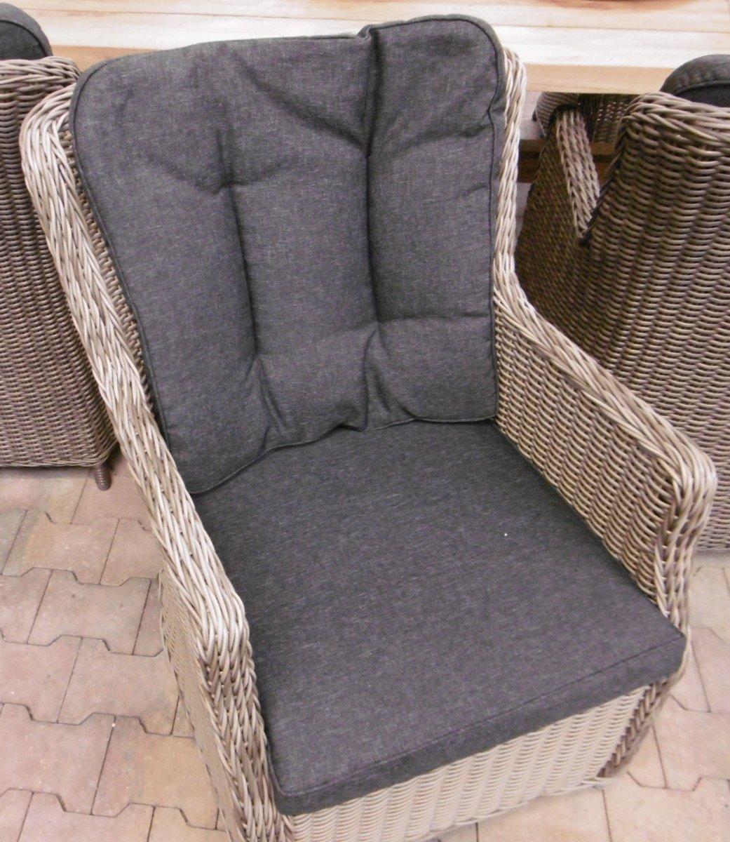 Canossa Dining stoel incl handgreep Wicker HM02 Kobo - stof 239