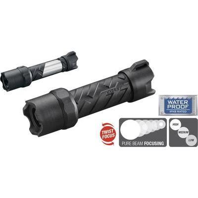 Coast Polysteel 200 LED Zaklamp Werkt op batterijen 250 lm 116 g Zwart, Grijs