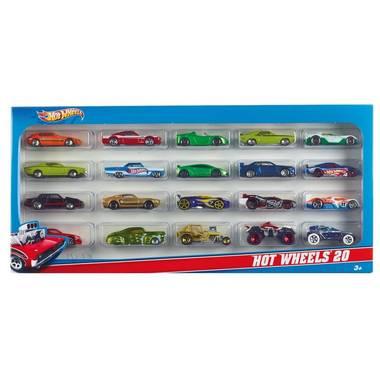 cadeauset met 20 auto's