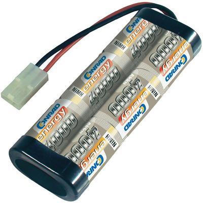 NiMH accupack 7.2 V 4000 mAh Conrad energy Stick Tamiya-stekker