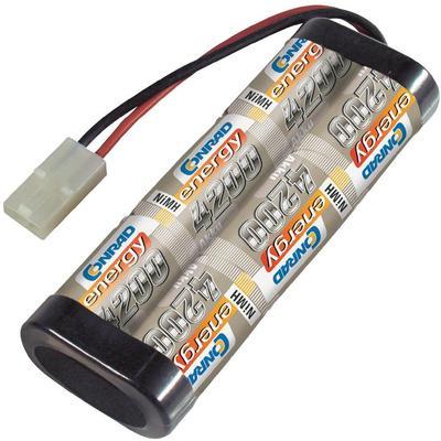 NiMH accupack 7.2 V 4200 mAh Conrad energy Stick Tamiya-stekker