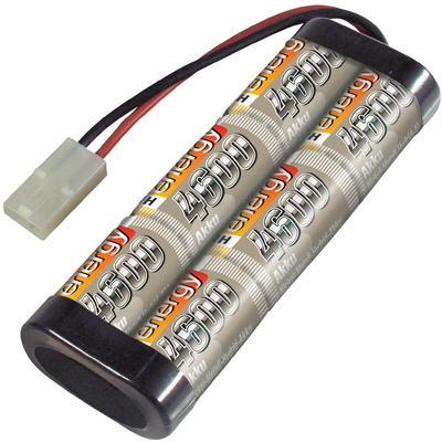 NiMH accupack 7.2 V 4600 mAh Conrad energy Stick Tamiya-stekker
