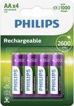 R6B4B260 2600 mAh AA nikkelmetaalhydride-batterij Batterij