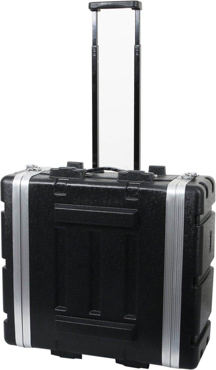 Innox ABS-17-4UT 19 inch ABS doubledoor flightcase met wielen 4U