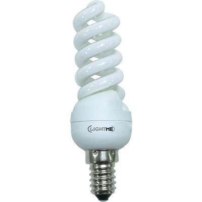 LightMe Spaarlamp 104 mm 230 V E14 11 W Energielabel: A Spiraal Inhoud: 1 stuks