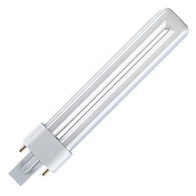 OSRAM Spaarlamp 137 mm G23 7 W = 36 W Warmwit Energielabel: B Buis Inhoud: 1 stuks