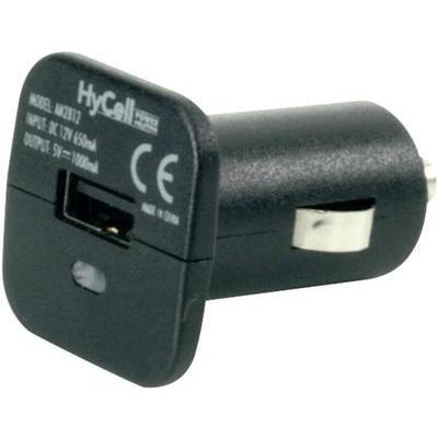 Ansmann USB-adapter voor de sigarettenaansteker Stroombelasting (max.)=1 A Geschikt