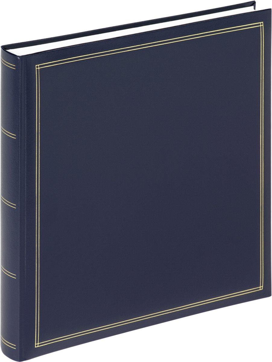 Walther Design FA-260-L Monza - Fotoalbum - 34 x 33 cm - Blauw - 60 pagina's