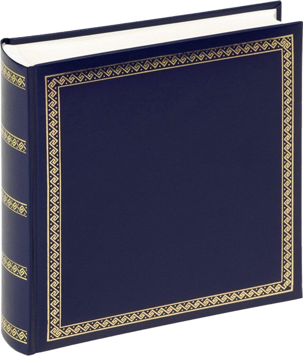Walther Design Das schicke Dicke - Fotoalbum - 26 x 25 cm - Blauw - 100 pagina's
