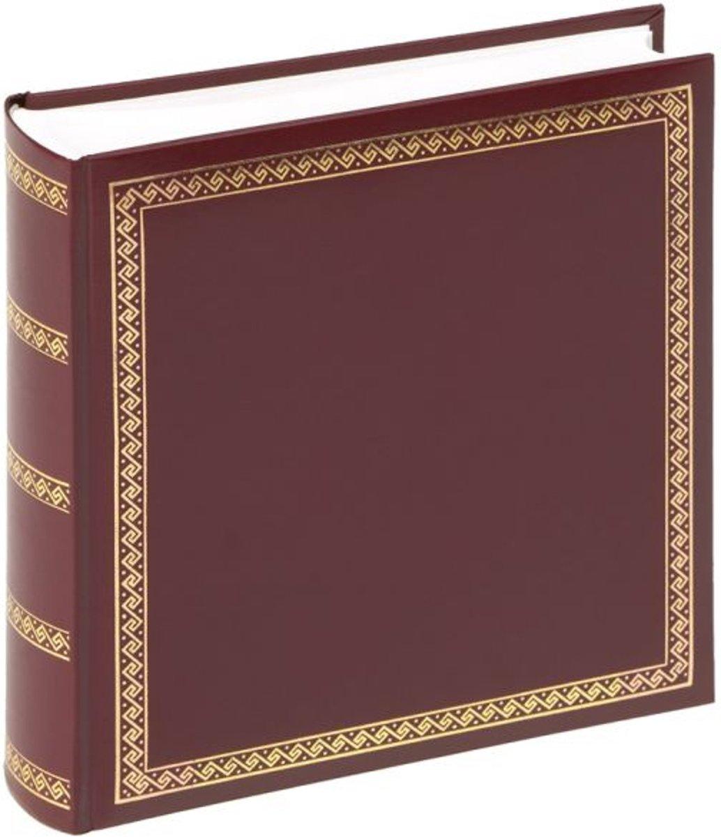 Walther Design Das schicke Dicke - Fotoalbum - 26 x 25 cm - Rood - 100 pagina's
